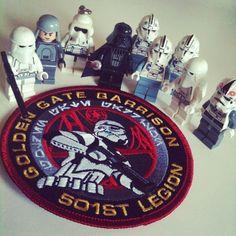 Instagram by Asiandoood #starwars #501st #stormtrooper #lego #patch