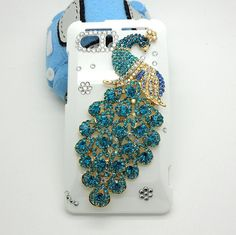 Handmade hard case for HTC VIVID Bling peacock by CheersCases, $21.99