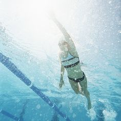 Swimming Interval Training Workout | POPSUGAR Fitness Australia