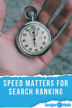 Speed Matters for Search Ranking // Google ranking, google ranking tips, google ranking hacks, search engine optimization tips, search engine optimization hacks, page speed