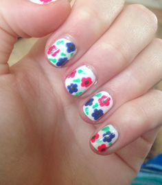 Flower nails!!!