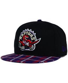 New Era Toronto Raptors Plaid 9FIFTY Snapback Cap Camo Hats 170756e1046b