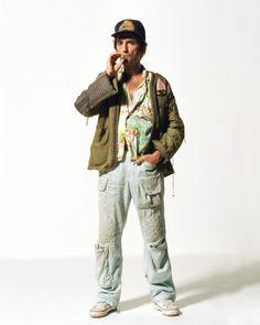 Harry Dean Stanton in Alien via Yimmy Yayo