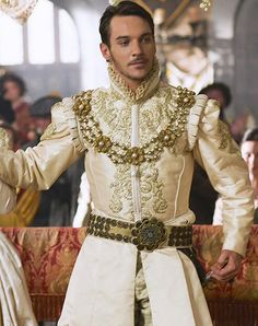 Henry VII dressed for his wedding to Jane Seymour.