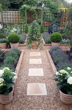 Gardening for beginners, gardening ideas, garden make-over, garden before and Vegetable Garden Design, Veg Garden, Garden Cottage, Garden Care, Vegetable Gardening, Pea Gravel Garden, Backyard Vegetable Gardens, Fairy Gardening, Gardening Hacks