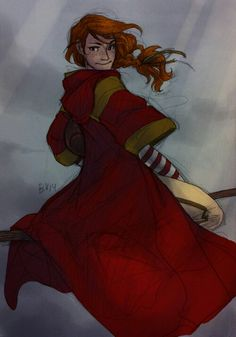 Ginny by burdge. Look at the lighting!