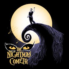 The Nightman Cometh - Always Sunny design at NeatoShop