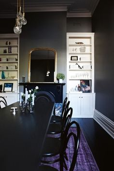 A Gallery of Deliciously Dark Interiors | Apartment Therapy