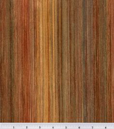 Accent Fabric- Red / Brown Stripe