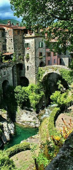 Bagnone in Tuscany Italy