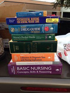 First semester of nursing school...
