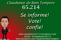 #Claudionor65214  #Eleicoes2012  #election2012  #politica  #politics
