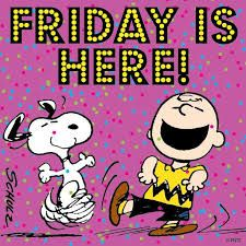 Afbeeldingsresultaat voor Snoopy Friday