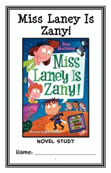 My Weird School Daze: Miss Laney Is Zany! (Gutman) Novel Study / Comprehension * Follows Common Core Standards *  This 27-page booklet-style Novel Study is designed to follow students throughout the entire book.  The questions are based on reading comprehension, strategies and skills. The novel study is designed to be enjoyable and keep the students engaged.