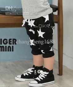 2013 Summer Boys Shorts Children Baby Short Pants Star Design Harem Pants Kids Clothes