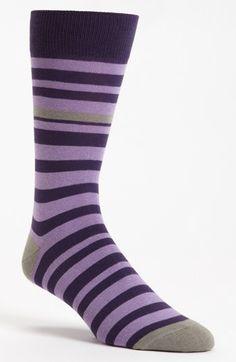 Lorenzo Uomo Stripe Socks available at #Nordstrom