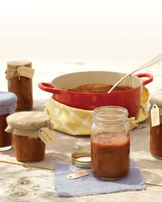This all-purpose tomato-based sauce balances sweet and savory. Use this recipe on its own or as a base for the easy-to-make variations: Smoky Chile and Coffee, Roasted Garlic and Lemon, or Peach and Bourbon.