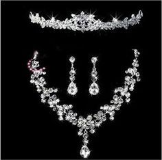dhhonton offers lots of amazing bridal earrings, wedding rings set and bridesmaid jewelry in cheap price. Click our website for fancy and gorgeous bridal tiaras hair necklace earrings accessories wedding jewelry sets cheap price fashion style bride hair dress bridalamid ht027 with a large variety of choices.