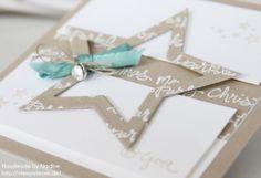 Stars framelits and Good Greetings stamp set.