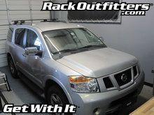 Nissan Armada Thule Crossroad SQUARE BAR Roof Rack '08-'13*