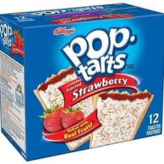 Shop for Pop-Tarts & Toaster Pastries in Breakfast & Cereal. Buy products such as Pop-Tarts Bites Frosted Strawberry, 10 Packs, Toaster Pastry Snack Bites at Walmart and save. Breakfast Toast, Breakfast On The Go, Best Breakfast, Breakfast Recipes, Breakfast Ideas, Snacks For Work, Healthy Work Snacks, Easy Snacks, Cinnamon Pop Tart
