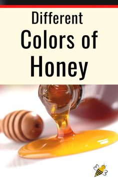 Jars of golden honey are beautiful but honey comes in many different shades. #carolinahoneybees #colorofhoney #rawhoney