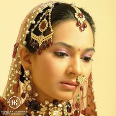 That subtle elegance on her face.  After all she is a Bride!  This beautiful portrait can be turned into an art. Guess how?   #Bride #bridal #wedding #weddingdress #weddingday #weddingphotography #photography #photooftheday #nofilter #ronickakandhari #Face #instadaily #instagood #picoftheday #instapic #cool #Fun #Beautiful #Beauty #jewelry #Colors #mesmerizing #Women #marriage #art @vogueindia
