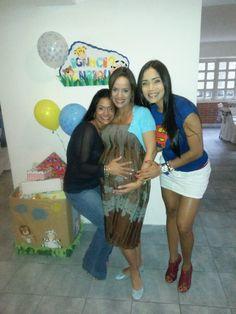Baby shower Ignacio Enrique... agosto 2014. Con las brujas