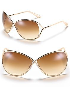 897518366f5446 Tom Ford s oversized sunglasses are full of movie-star chic. With  cross-front