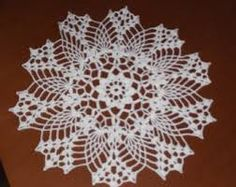 DOILY CROCHET ROUND - Google Search