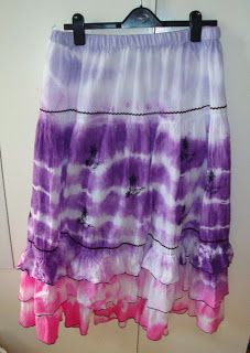 Tie-Dyed Skirt
