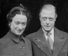 The Duke and Duchess of Windsor, who had been married for 12 years, pictured here in 1949 ...