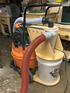 Cyclonic dust collection bucket - Projects - Inventables Community Forum