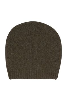 Ultra soft cashmere beanie, ribbed knit finish, 55 grams of 100% pure cashmere in 3-gauge knit
