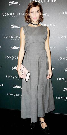 Look of the Day - December 5, 2014 - Alexa Chung from #InStyle