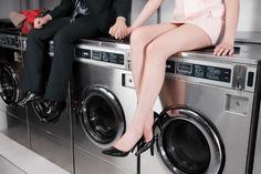 Date Night at a Laundromat: Cute or Too Much of a Chore?