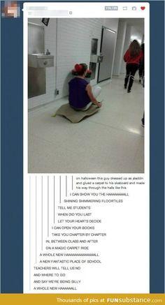 """A magic carpet ride...I lost it at """"I can show you the HAAAAAAAAAALL"""""""