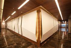 office corridor / Gubretas – Istanbul Headquarters
