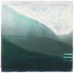 Morning Fog // 8 x 10 eco-friendly wall art mountains print