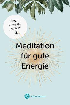 Negative Energie macht dir gerade den Alltag schwer? Du bist nicht alleine. Gerade in Zeiten einer Pandemie sind wir Menschen angespannter als sonst. Um negative Energie mit POSITIVER zu ersetzen, habe ich eine 10-minütige Meditation für dich 🧘♀️💖 Höre gleich rein und schreib mir gerne, wie es dir mit dem Thema geht! #meditation #positivevibes #mindfulness #podcast Meditation, Positive Energie, Stress Management, Inspiration, Psychology Facts, Improve Self Confidence, Happy Life, Joie De Vivre, Self Love