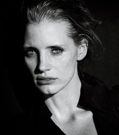 Jessica Chastain - Interview Magazine - by Peter Lindbergh