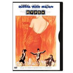 """Gypsy"" starring Rosalind Russell, Natalie Wood (1962)"