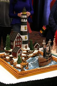 The scene at the National Gingerbread House Competition, held at the Omni Grove Park Inn on Nov. 20, 2017. (Photo credit: WLOS Staff)
