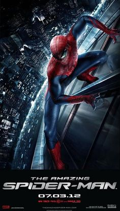 "4 minutes trailer for ""The Amazing Spider-Man"" #TheAmazingSpiderMan"