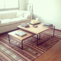 mesa de centro guadalupe