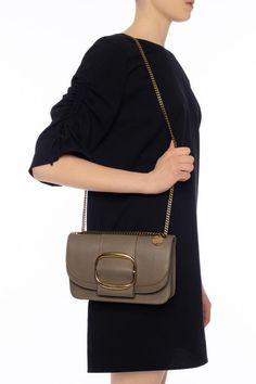 'hopper' decorative buckle shoulder bag, zdjęcie 1 Vogue, Shoulder Bag, Bags, Fashion, Handbags, Moda, Fashion Styles, Shoulder Bags, Fashion Illustrations