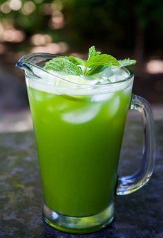 Cucumber Lime Mint Agua Fresca Recipe   SimplyRecipes.com