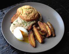Schnitzel And Biscuits With Bratwurst Gravy Recipe