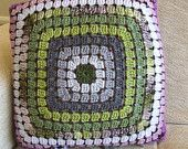 Crochet cushion cover from just one granny square. :)