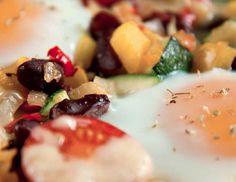 Grønnsaksform Fruit Salad, Sushi, Panna Cotta, Food Porn, Eggs, Lunch, Ethnic Recipes, Fruit Salads, Dulce De Leche